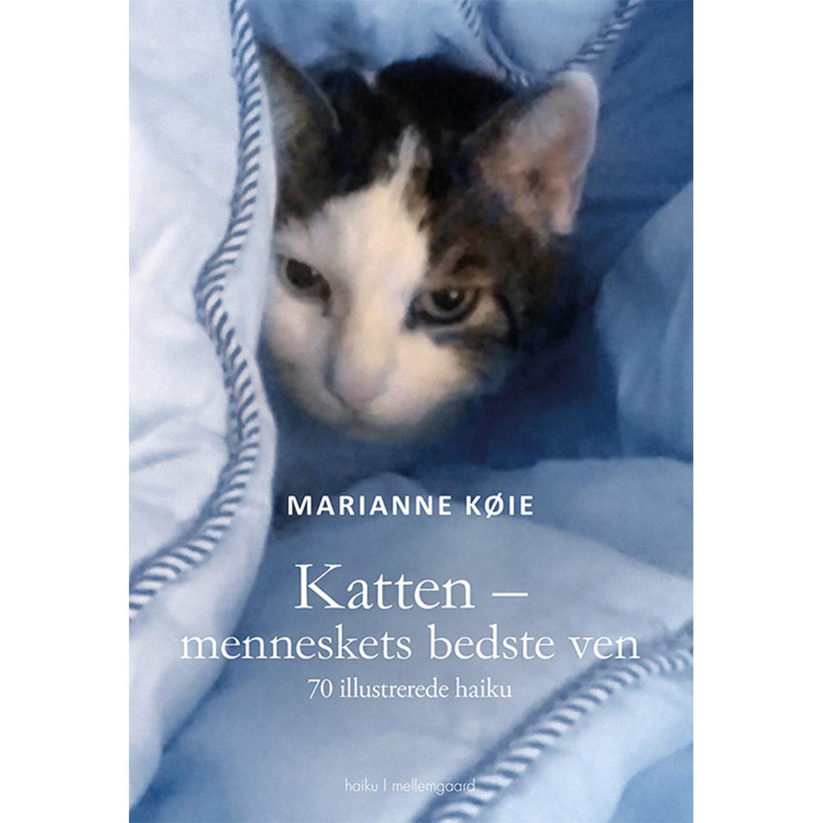 Image of   Katten - menneskets bedste ven - 70 illustrerede haiku - Hæftet