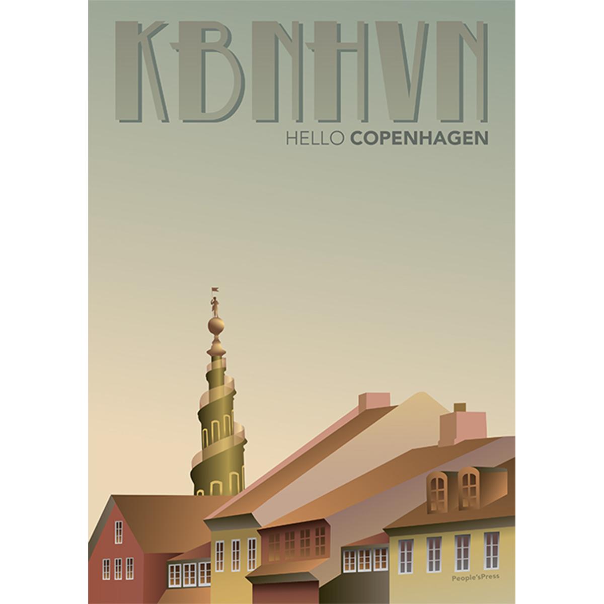 Billede af KBNHVN - Hello Copenhagen - Hæftet