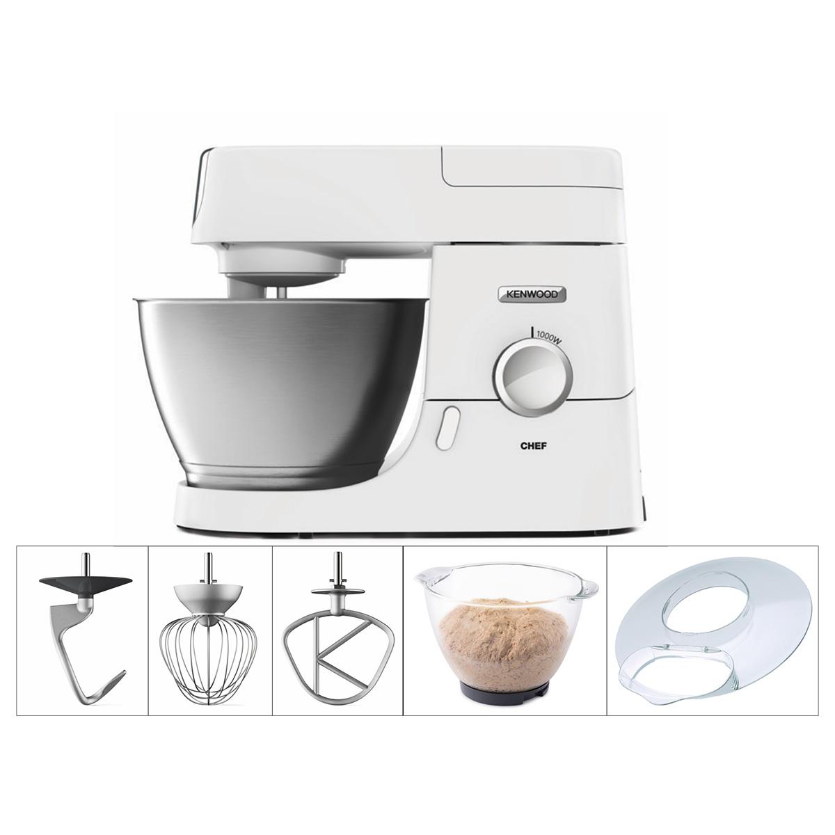 Image of   Kenwood køkkenmaskine - Chef - KVC3103W