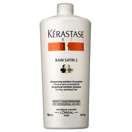 Billede af Kérastase Nutritive Bain Satin 2 Shampoo - 1000 ml
