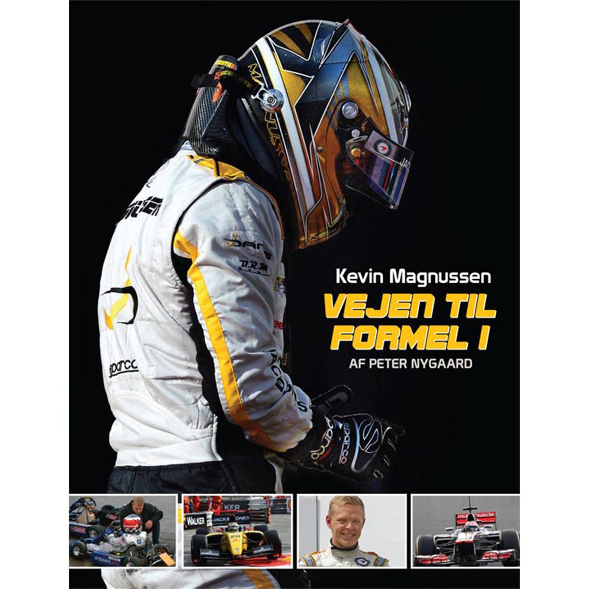 Kevin Magnussen - Vejen til Formel 1 - Indbundet