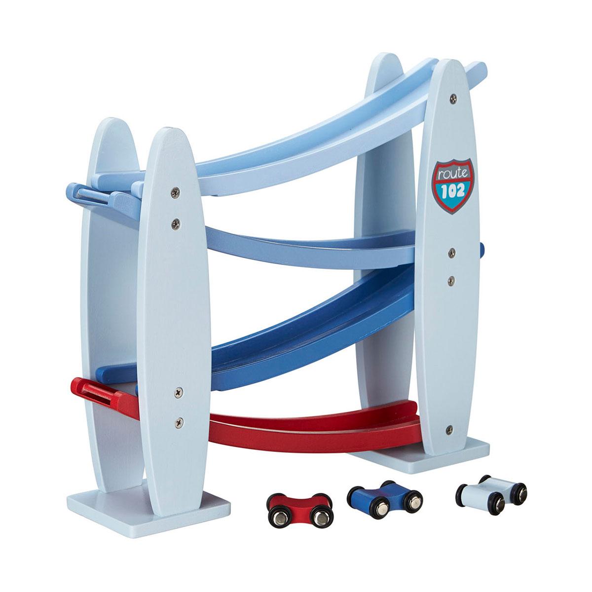 Image of   Kids Concept bilbane - Blå og rød