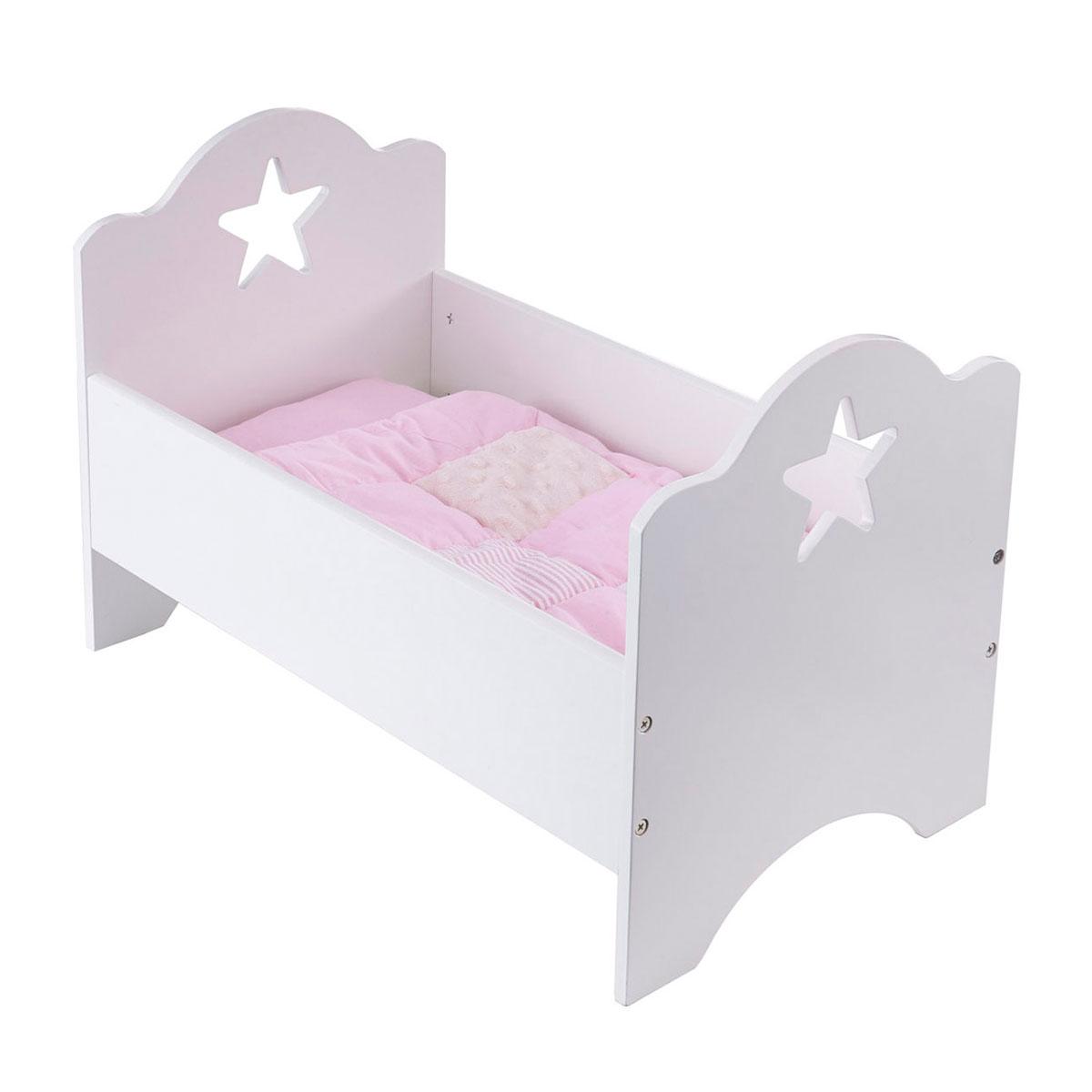 Image of   Kids Concept dukkeseng - Star - Hvid