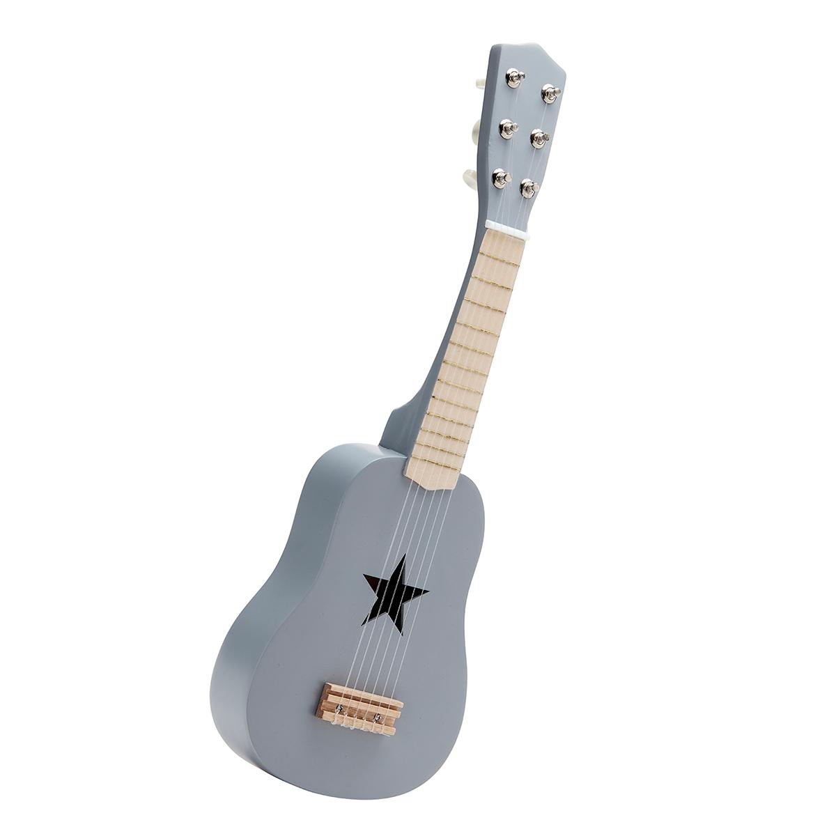 Billede af Kids Concept guitar i træ - Grå