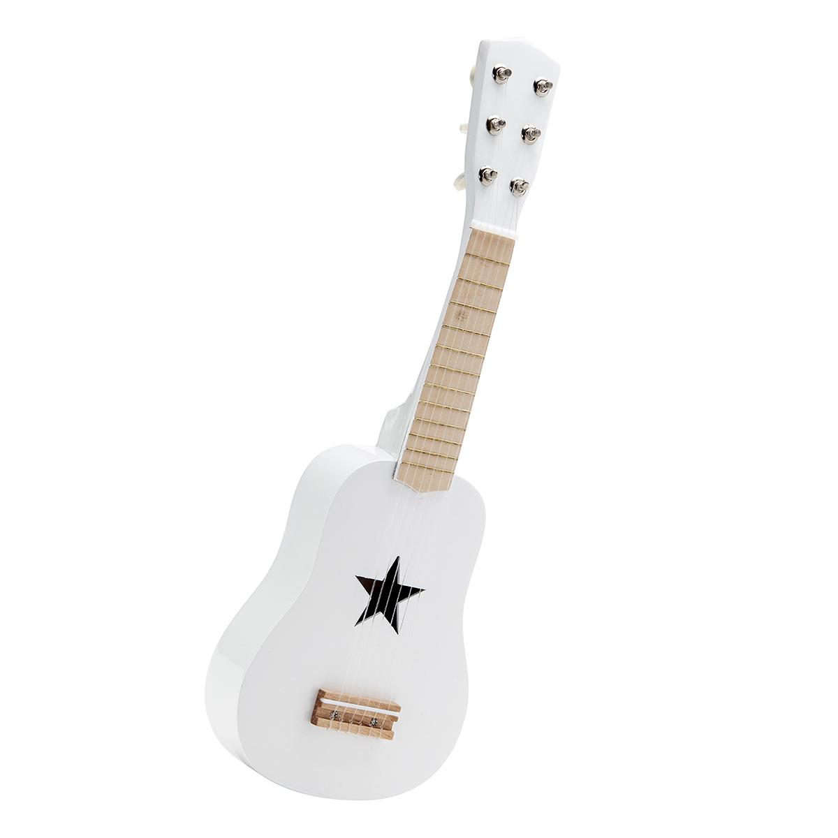 Billede af Kids Concept guitar i træ - Hvid