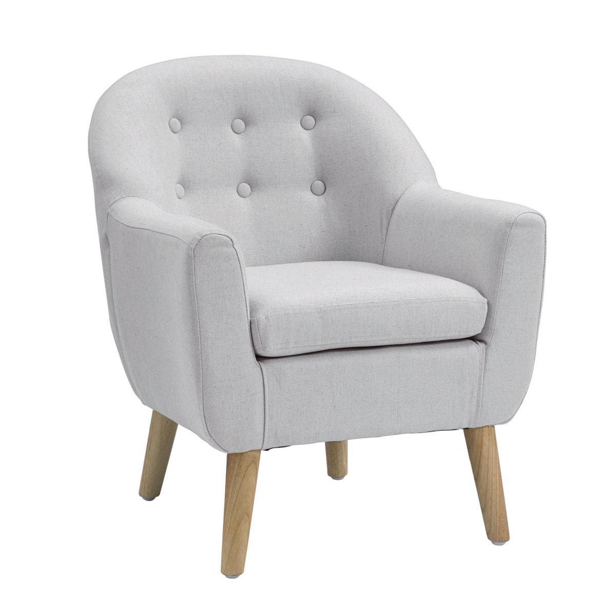 Image of   Kids Concept lænestol til børn - Grå