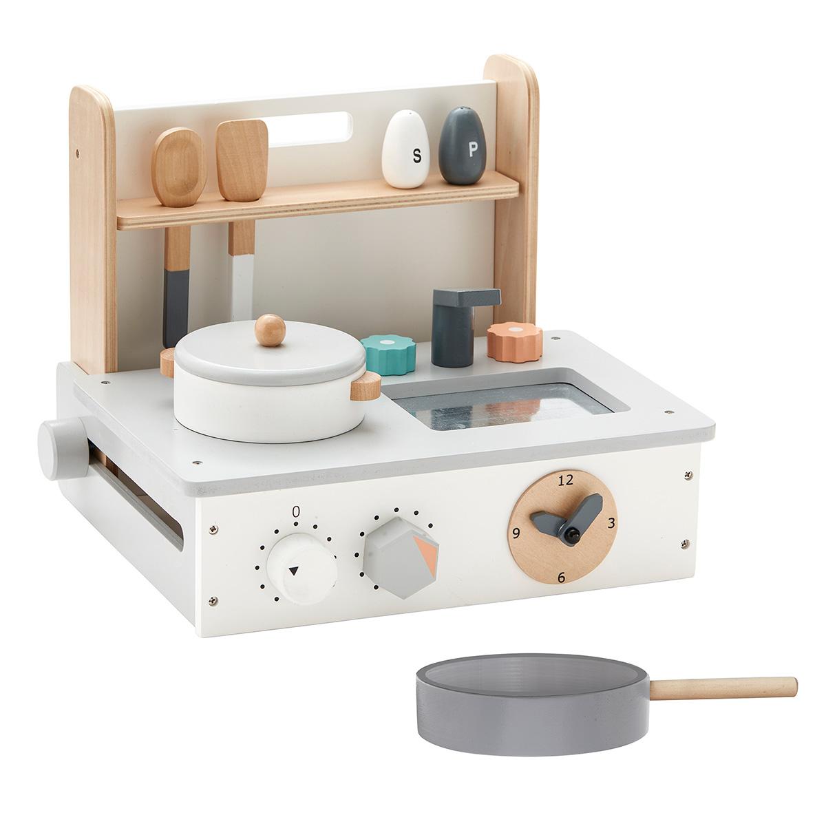 Billede af Kids Concept legekøkken - Hvid/grå