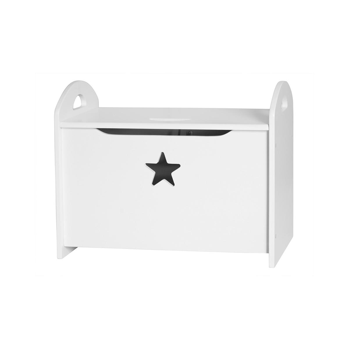 Image of   Kids Concept opbevaringskiste - Star - Hvid