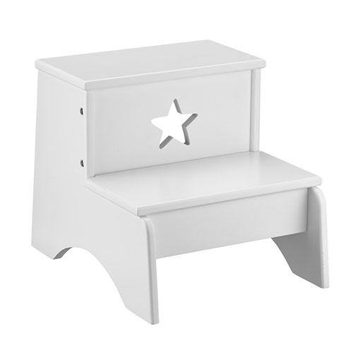 Image of   Kids Concept skammel - Star - Hvid