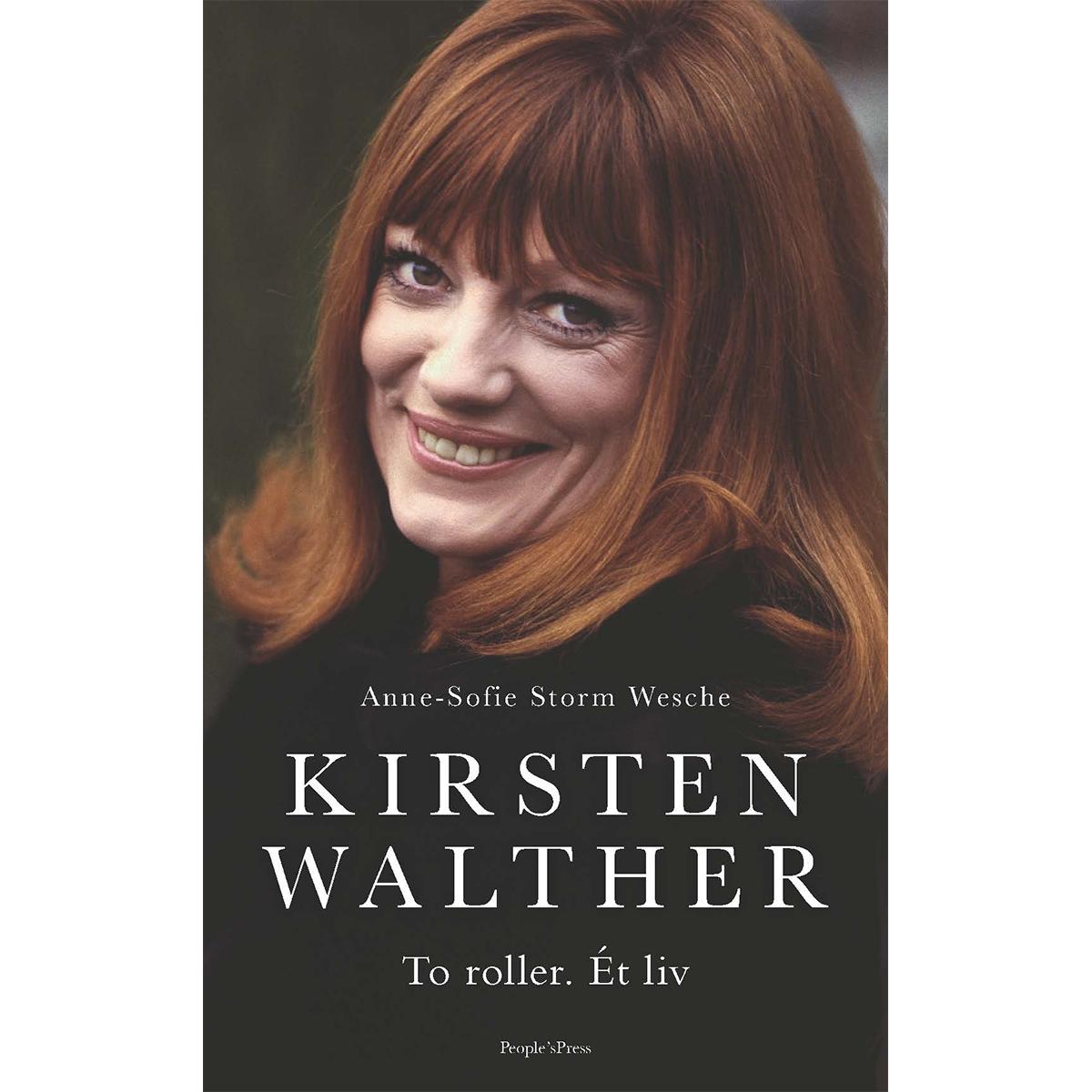 Kirsten Walther - To roller. Ét liv - Indbundet