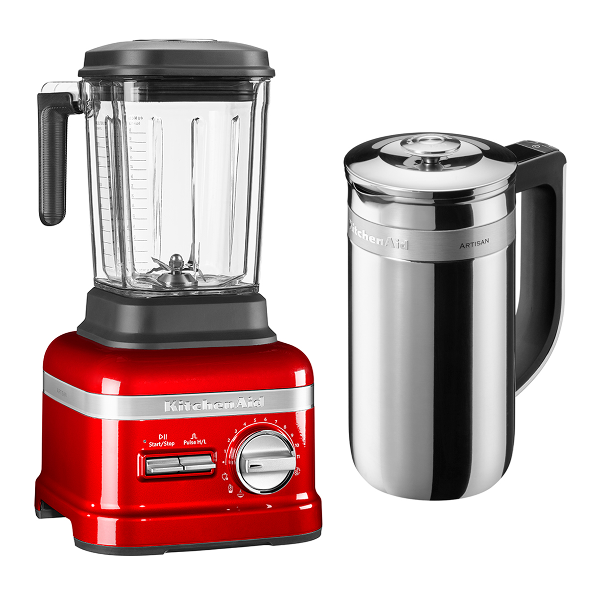Image of   KitchenAid bordblender - Artisan Power Plus - Rød