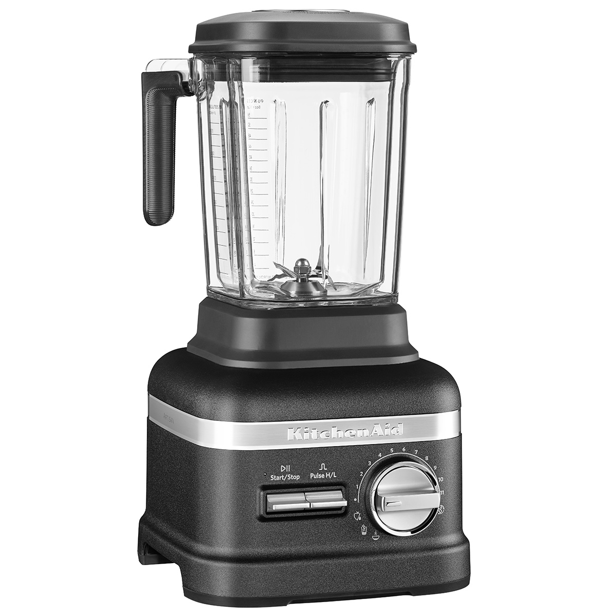 KitchenAid bordblender - Artisan Power Plus - Sort