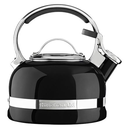 KitchenAid fløjtekedel - Sort  1,9 liter