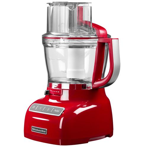 KitchenAid foodprocessor - Rød