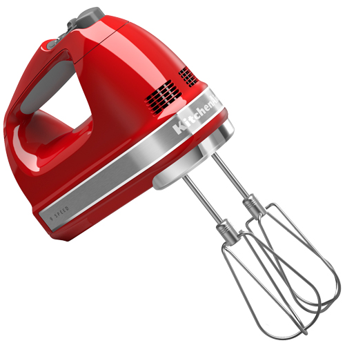 KitchenAid håndmixer - Rød