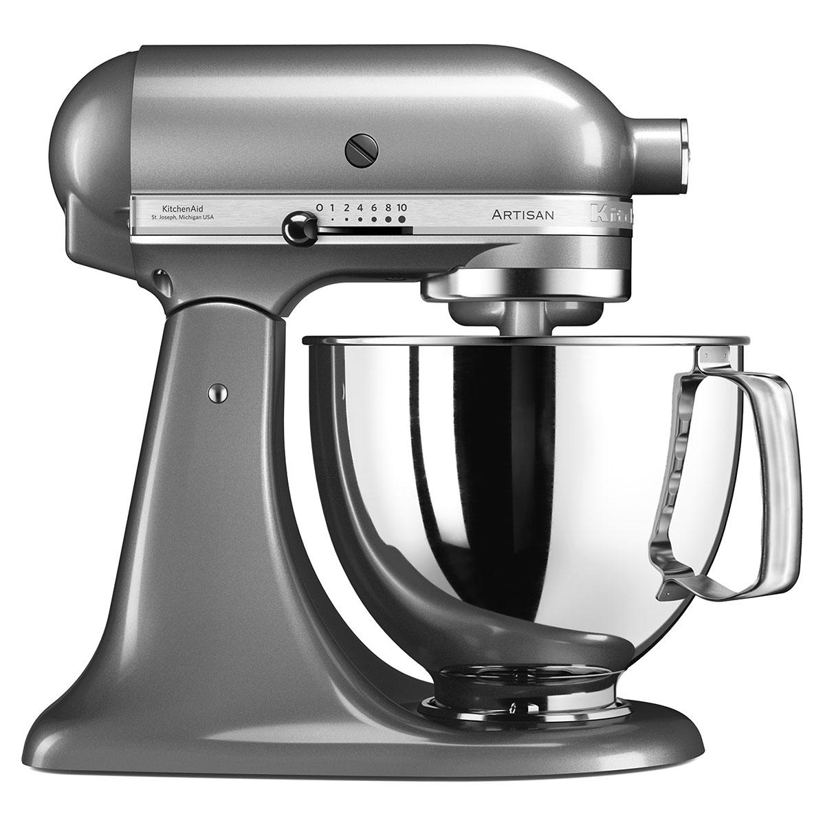 KitchenAid køkkenmaskine - Artisan - Contour Silver