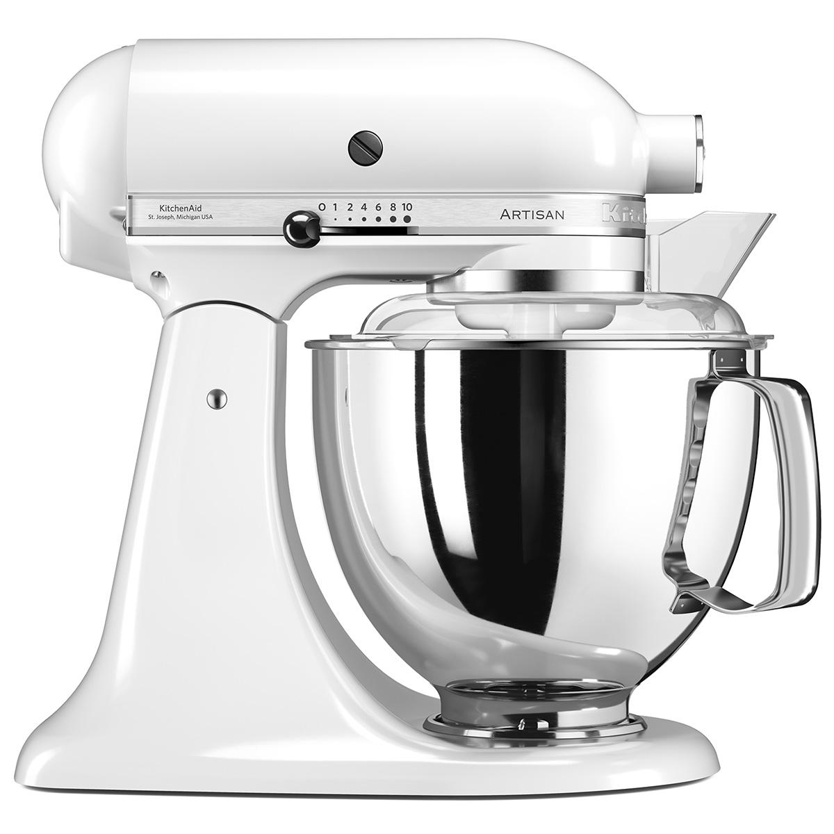 KitchenAid køkkenmaskine - Artisan - Hvid