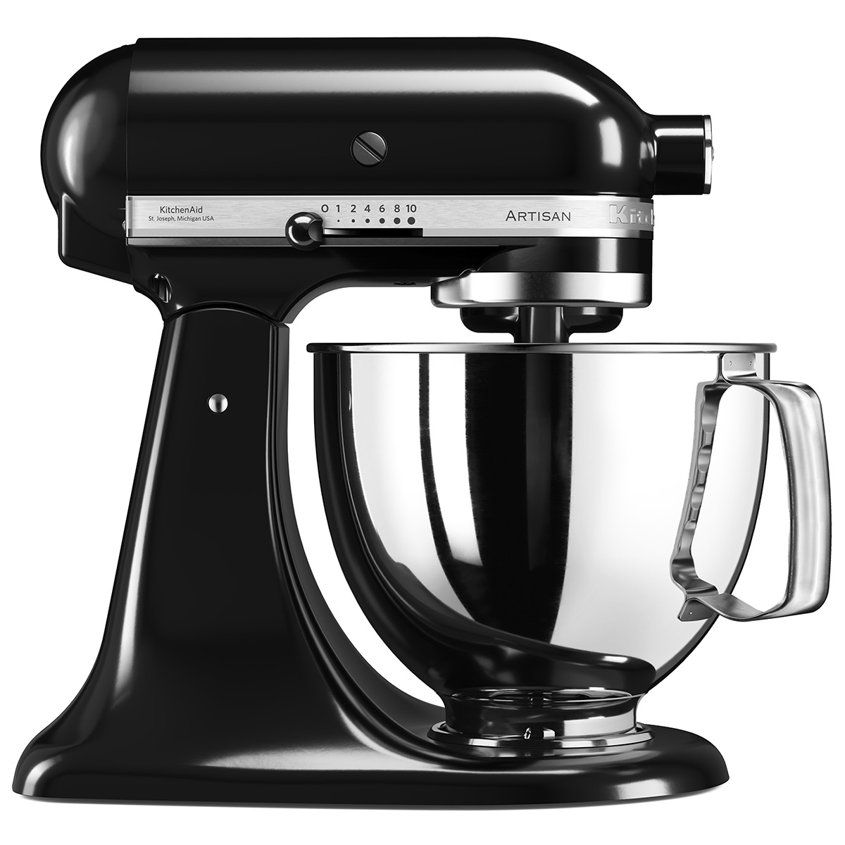 KitchenAid køkkenmaskine - Artisan - Sort