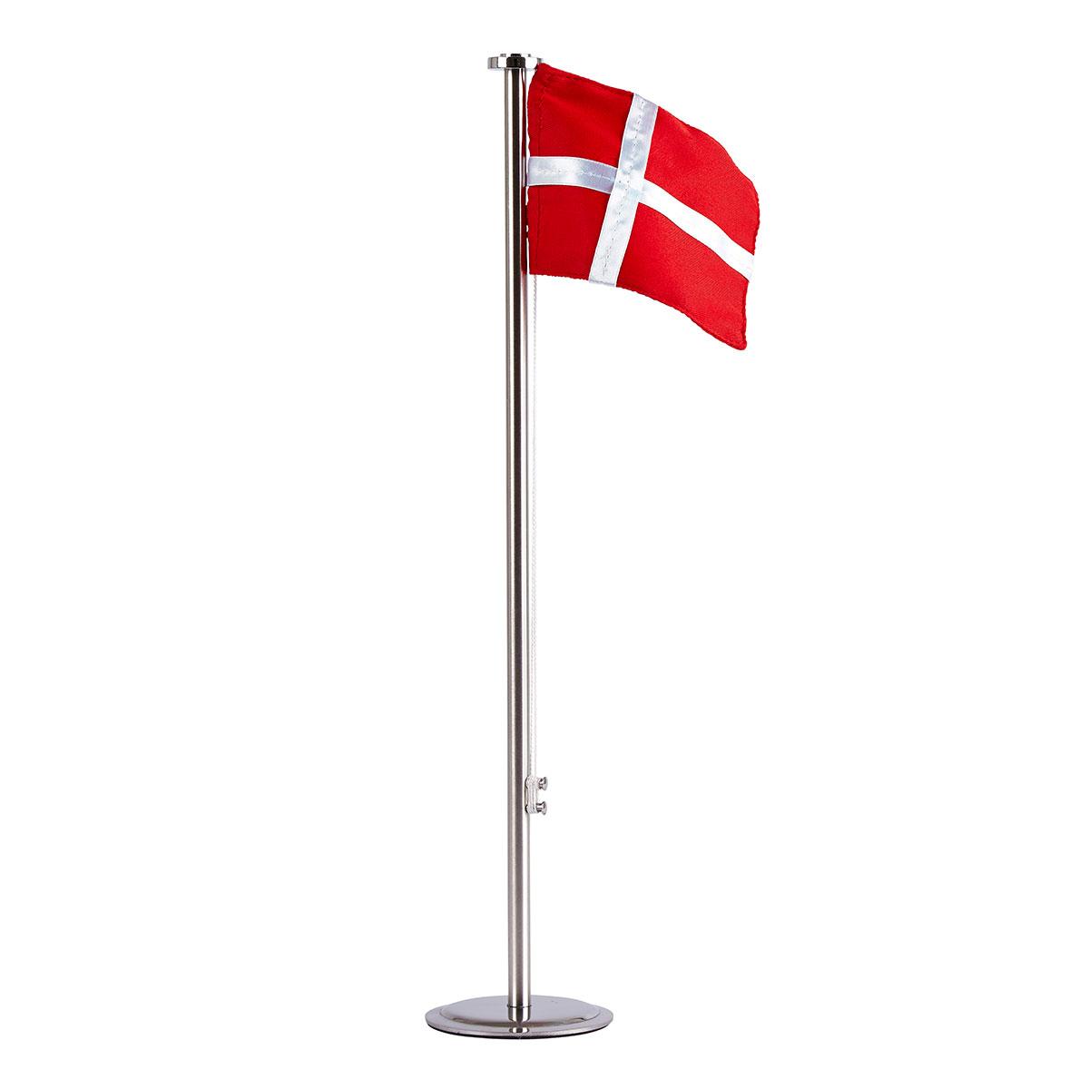 Billede af KJ Collection bordflag med Dannebrog - H 40 cm