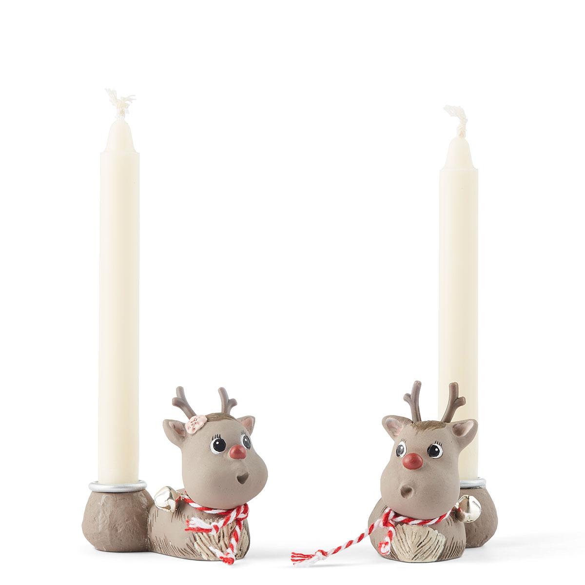 Image of   Klarborg lysestager - Rudolf & Smukke