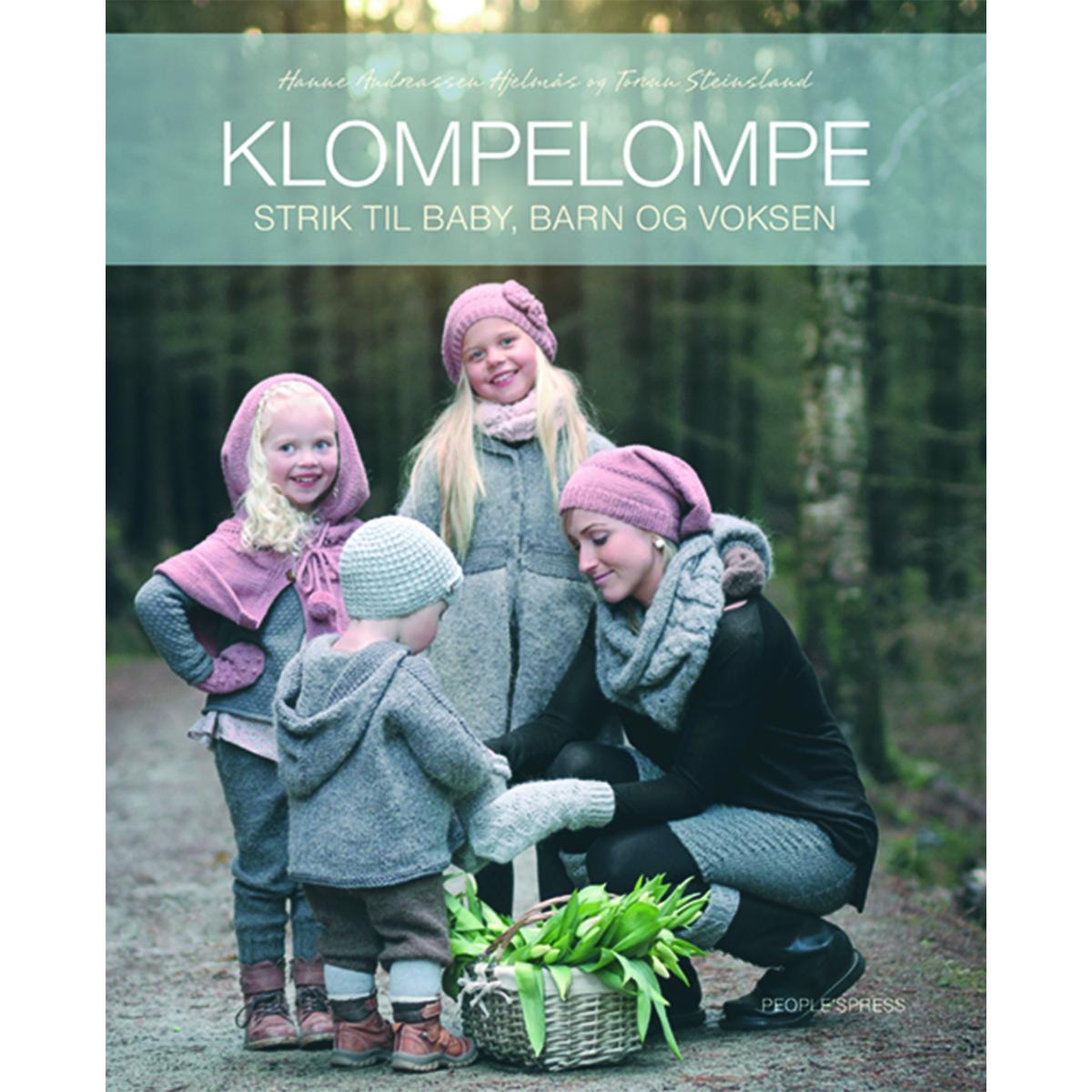 Image of   Klompelompe - strik til baby, barn og voksen - Indbundet