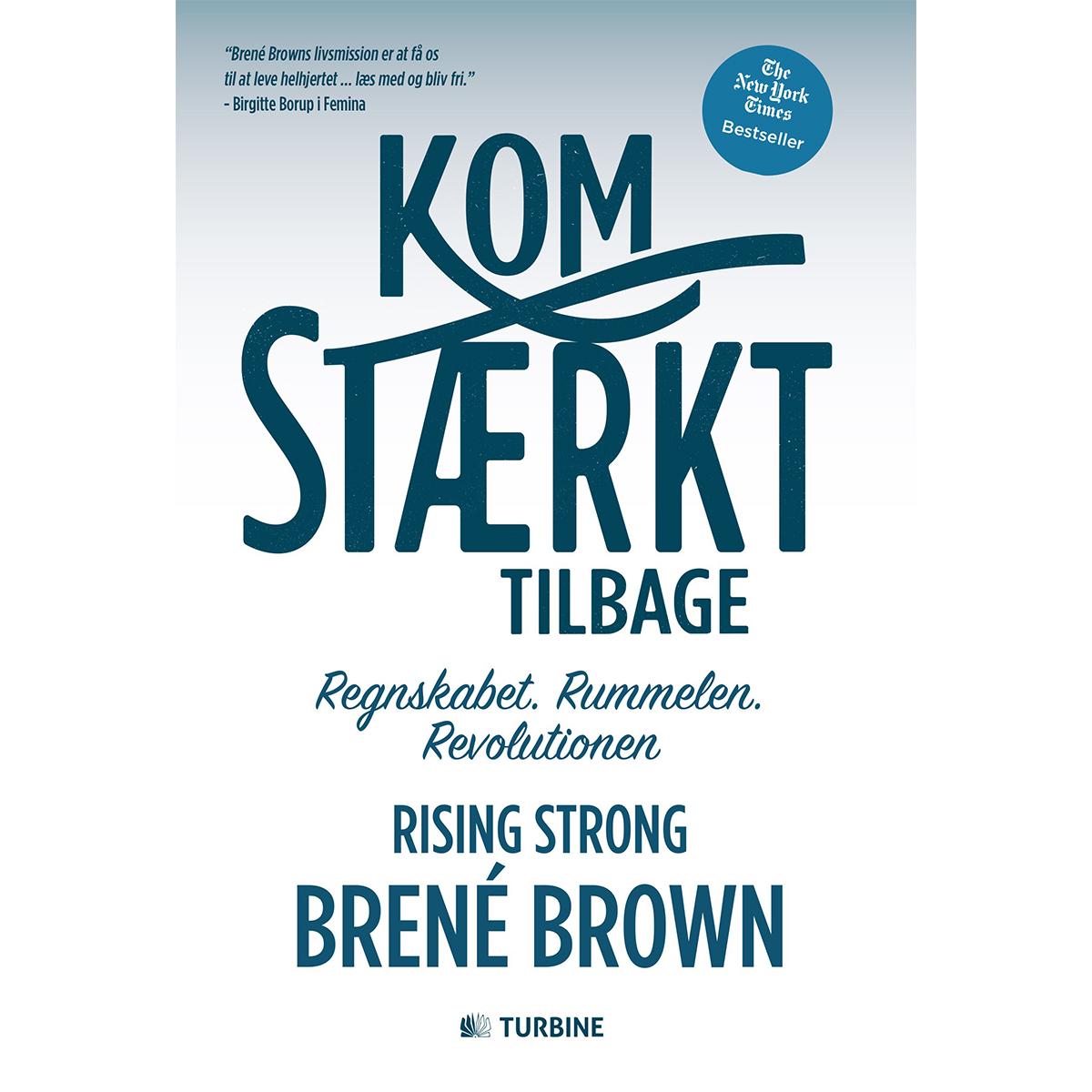 Image of   Kom stærkt tilbage - Rising strong - Hæftet