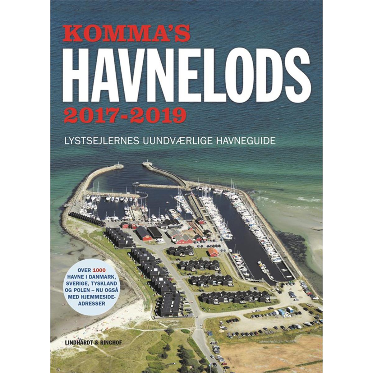 Image of   Kommas havnelods 2017-2019 - Hæftet