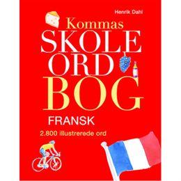 Billede af Kommas skoleordbog - Fransk - Over 2800 illustrerede ord - Indbundet