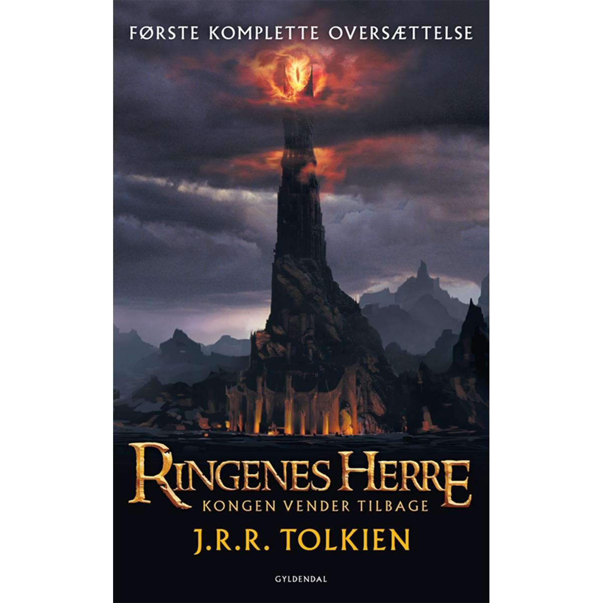 Image of   Kongen vender tilbage - Ringenes herre 3 - Paperback