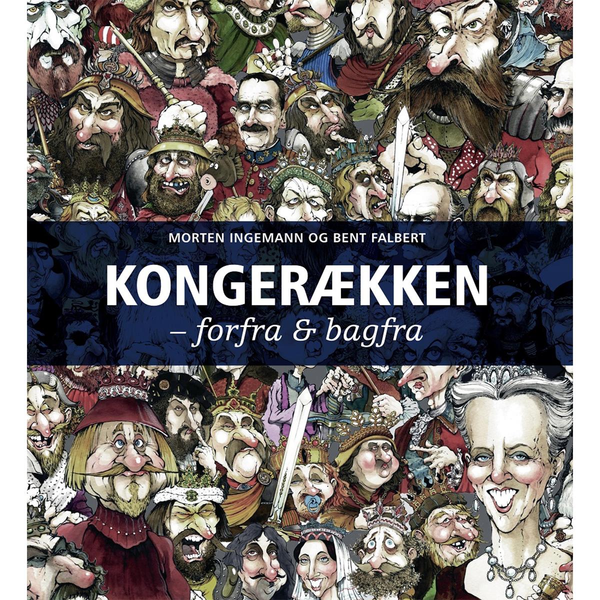 Image of   Kongerækken - forfra og bagfra - Indbundet