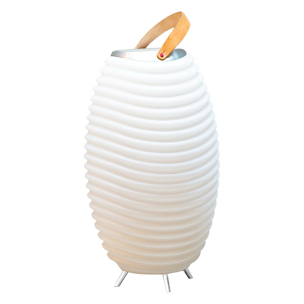 Kooduu LED-lampe med Bluetooth højtaler