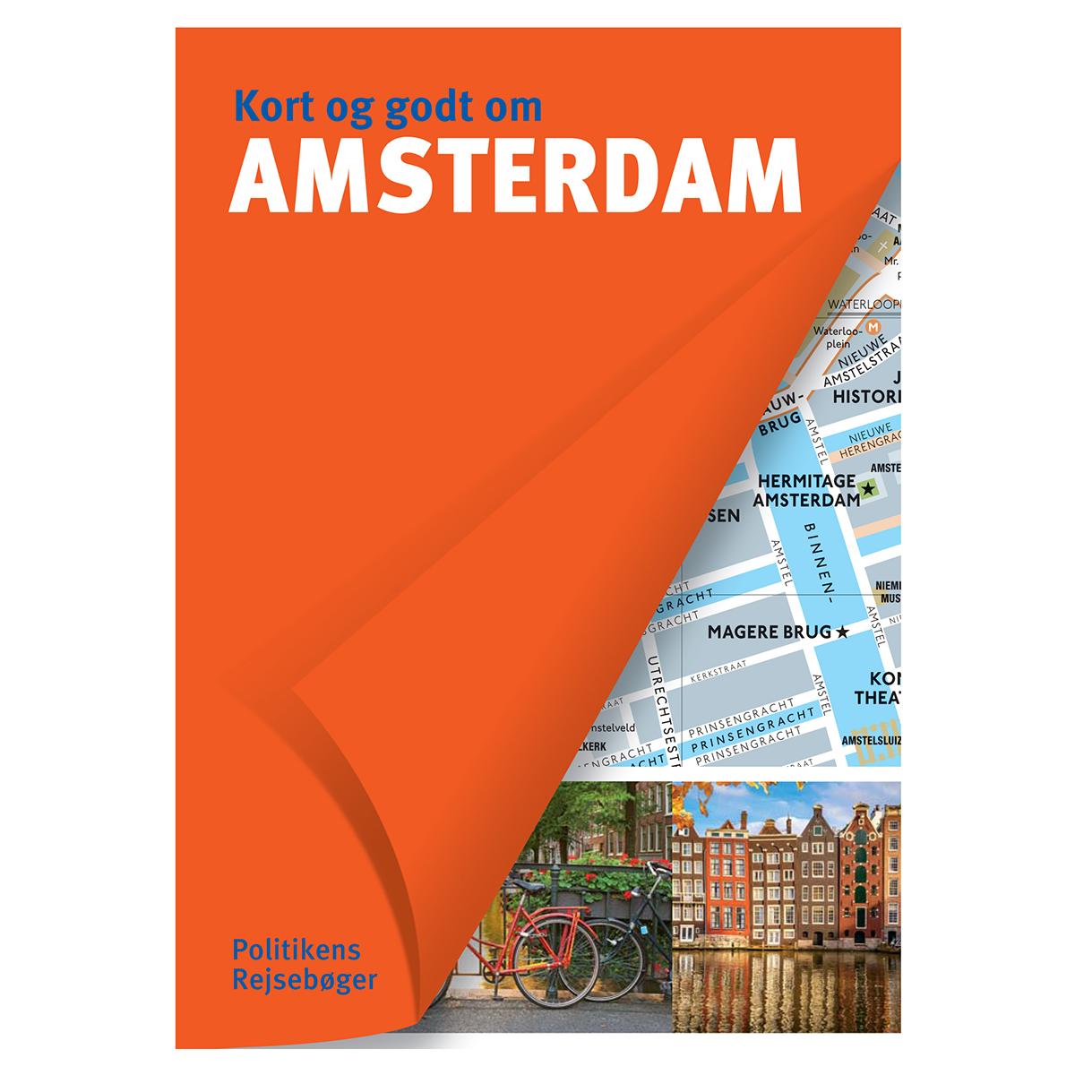 Image of   Kort og godt om Amsterdam - Hæftet