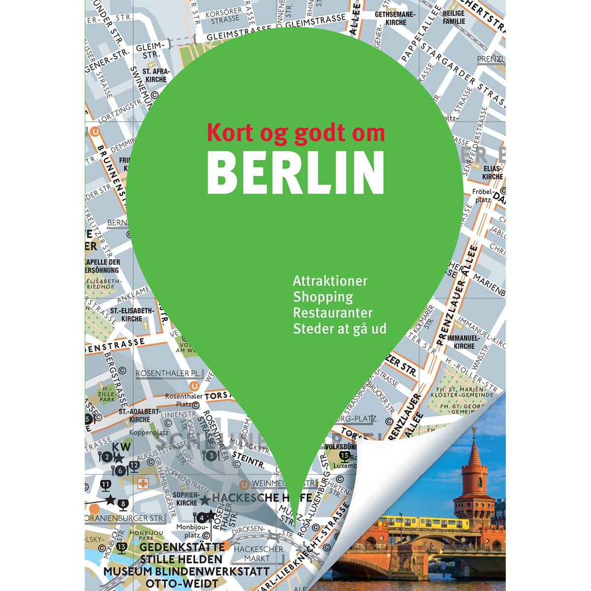Image of   Kort og godt om Berlin - Hæftet