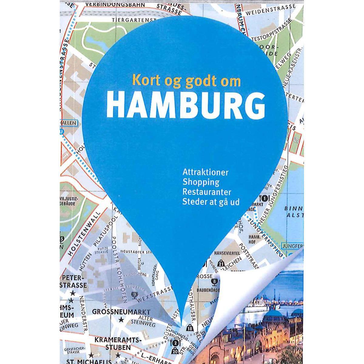 Image of   Kort og godt om Hamburg - Hæftet