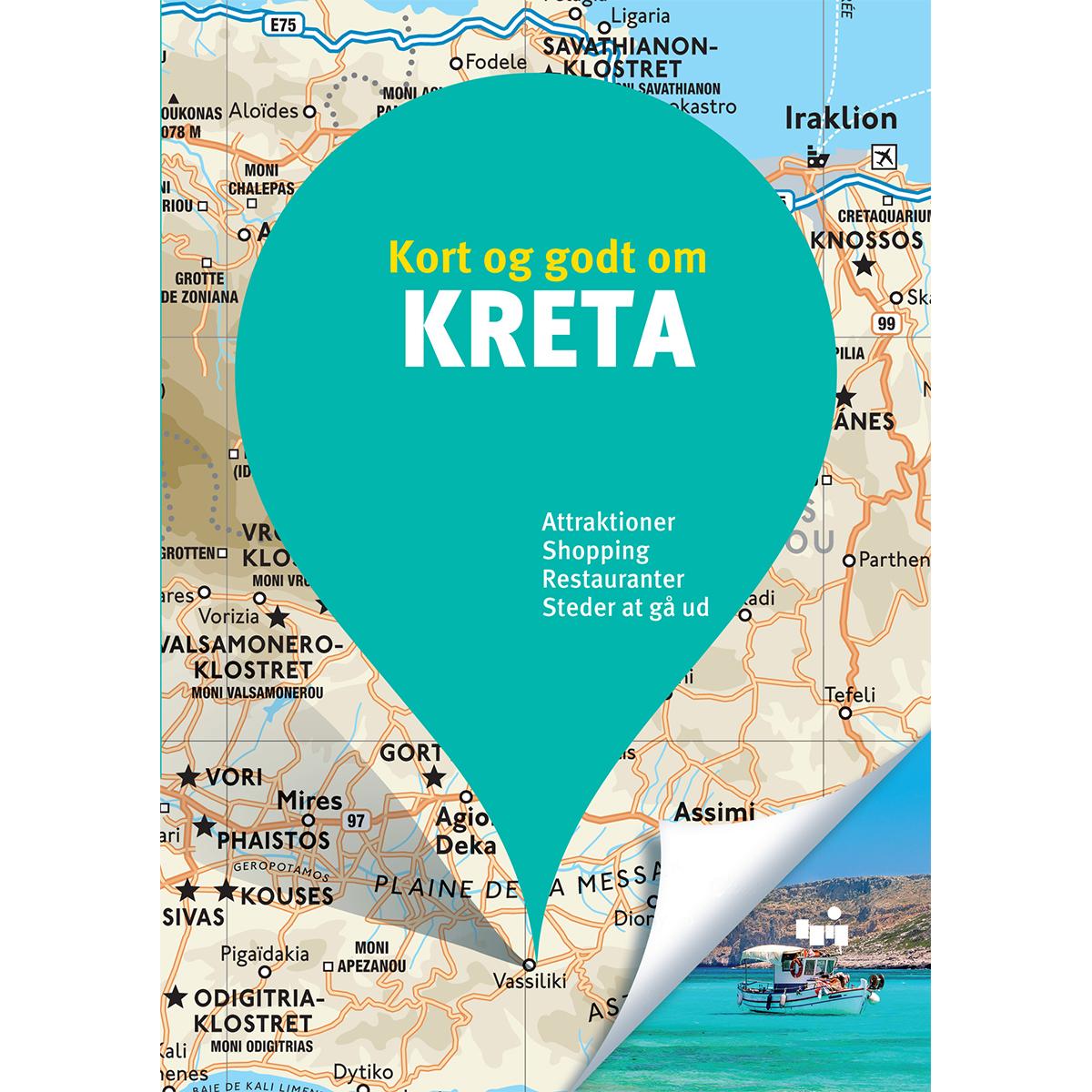 Image of   Kort og godt om Kreta - Hæftet