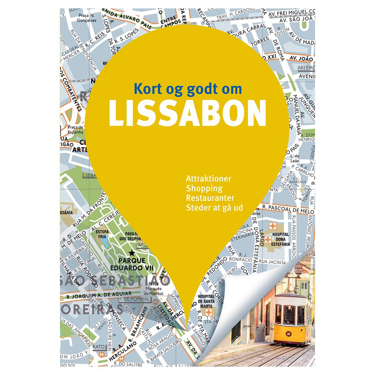 Image of   Kort og godt om Lissabon - Hæftet