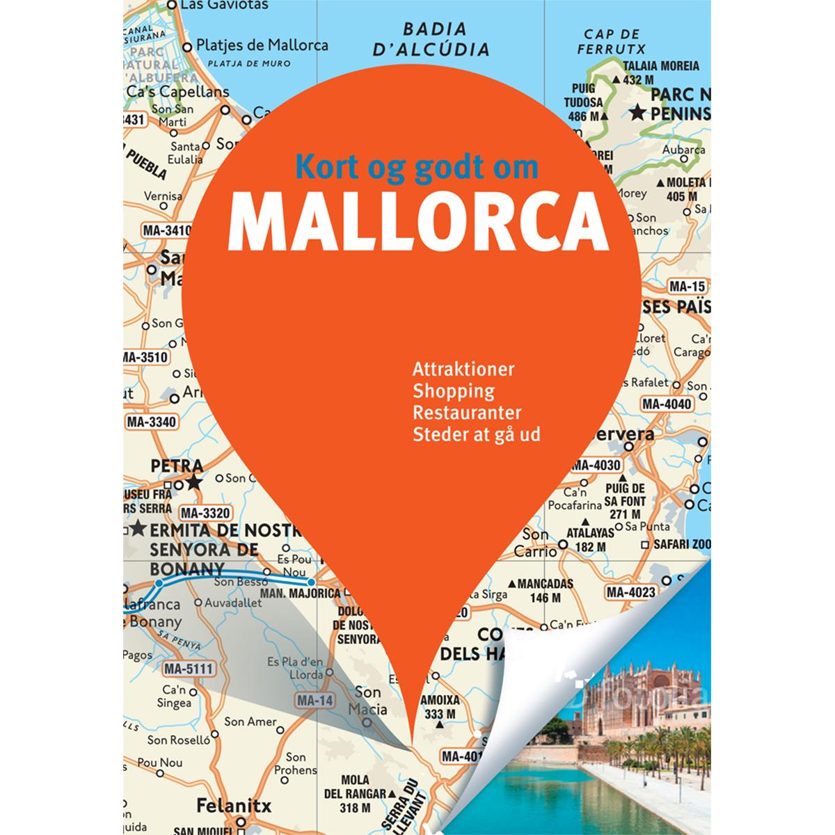 Image of   Kort og godt om Mallorca - Hæftet