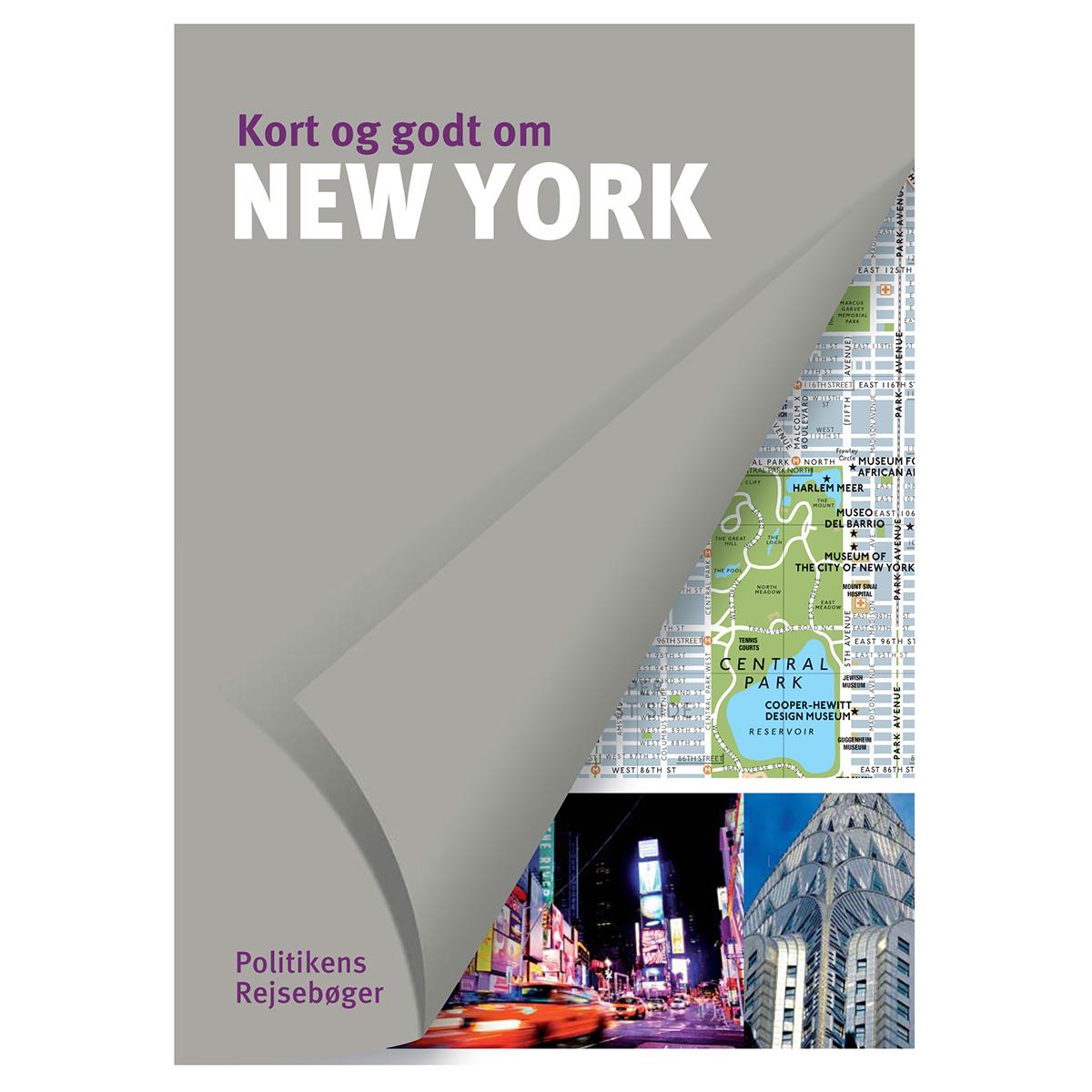Image of   Kort og godt om New York - Hæftet