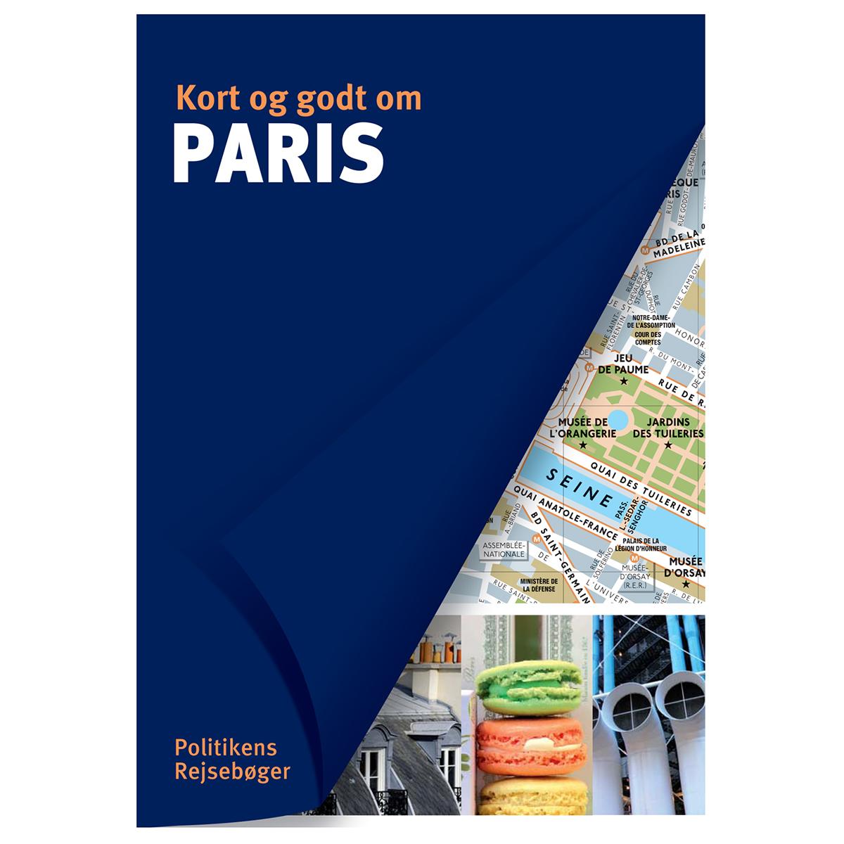 Image of   Kort og godt om Paris - Hæftet