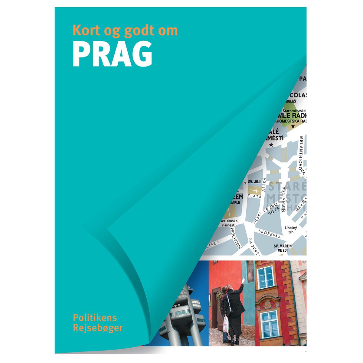 Image of   Kort og godt om Prag - Hæftet