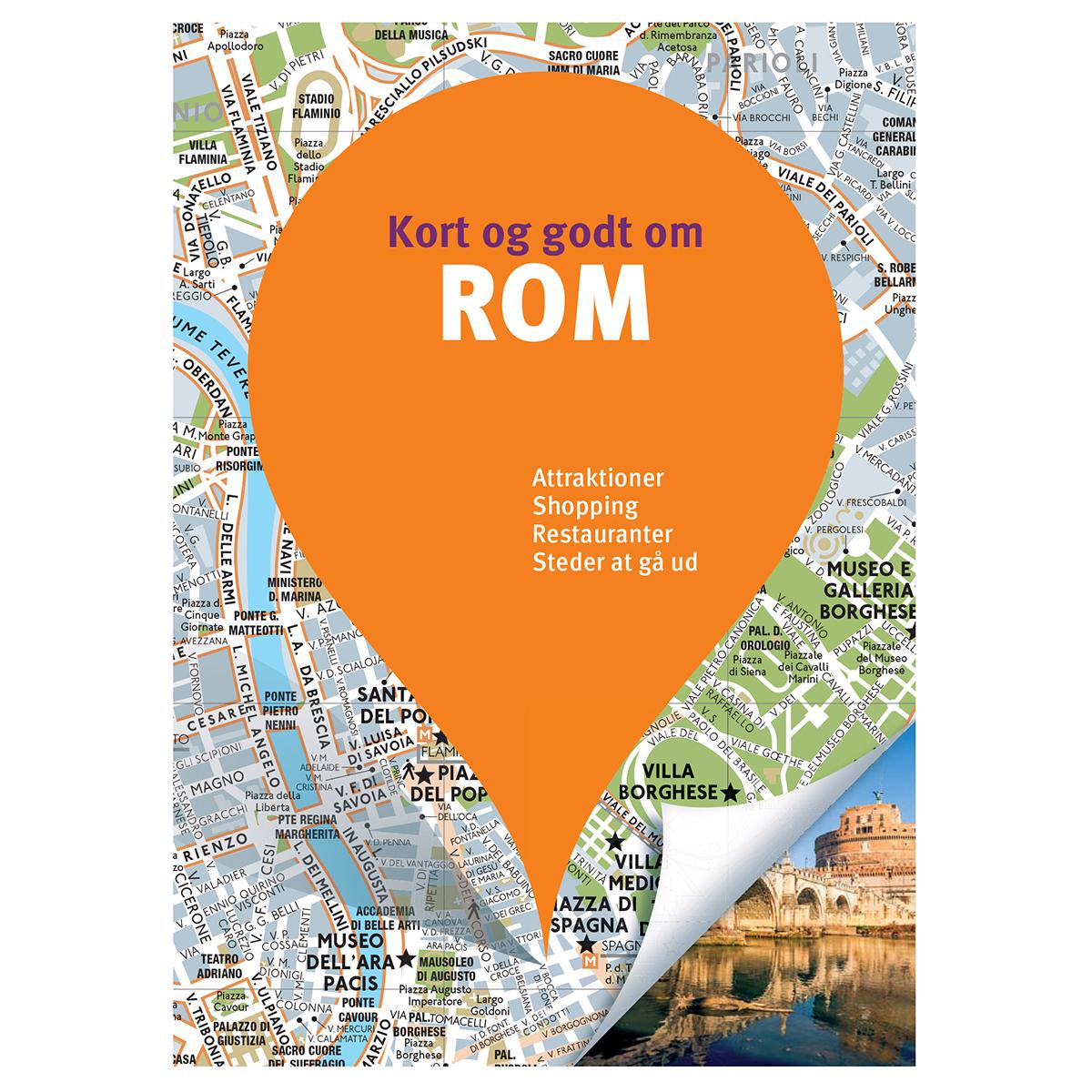 Image of   Kort og godt om Rom - Hæftet