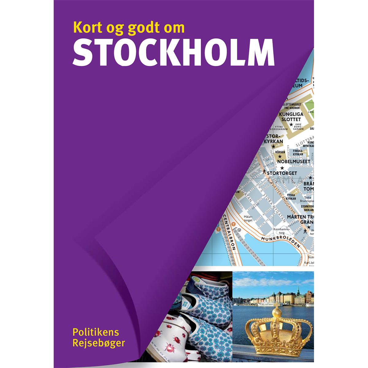 Image of   Kort og godt om Stockholm - Hæftet