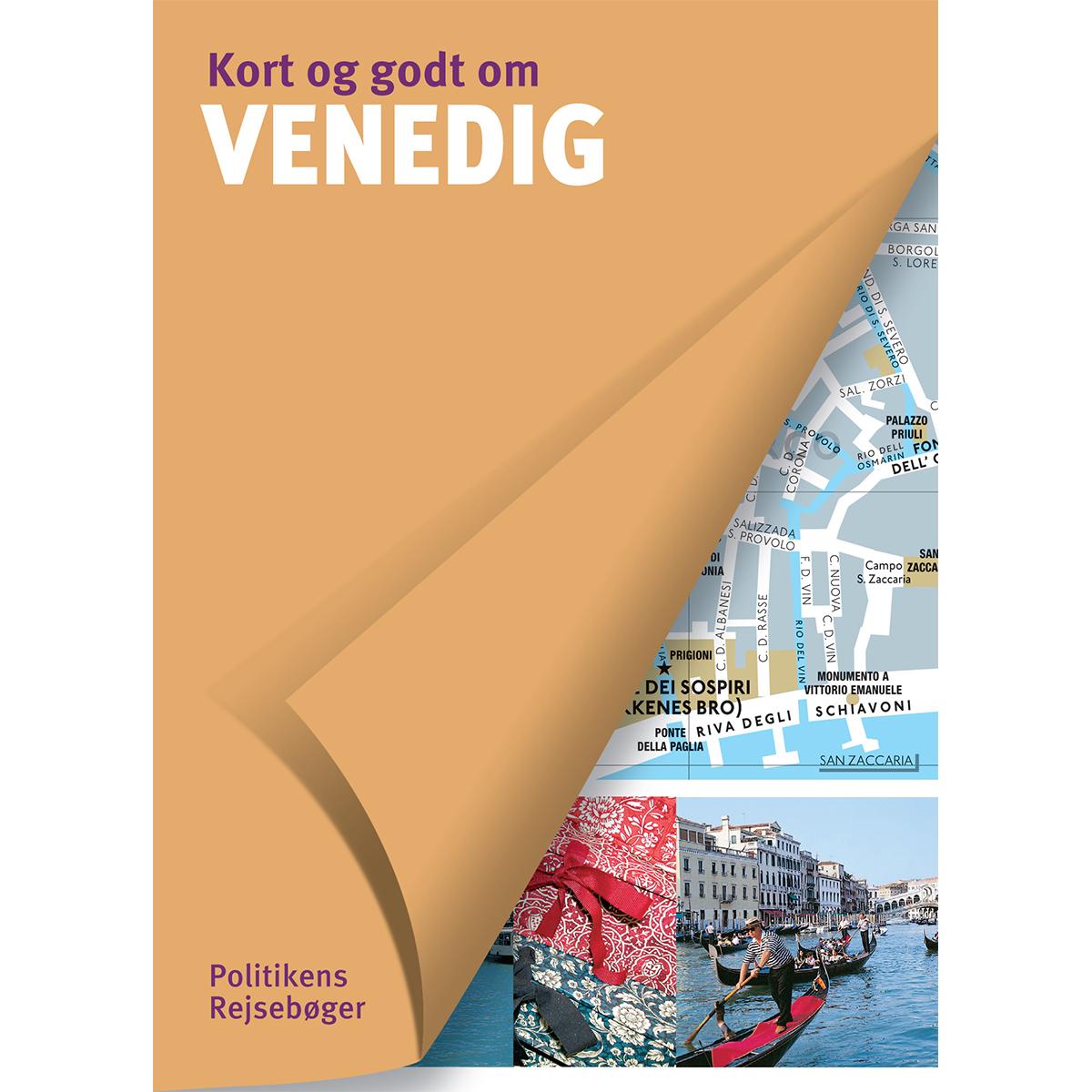 Image of   Kort og godt om Venedig - Hæftet