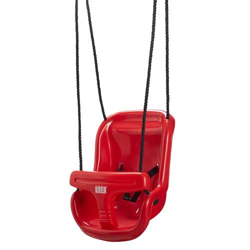 Billede af KREA gynge med høj ryg - Rød