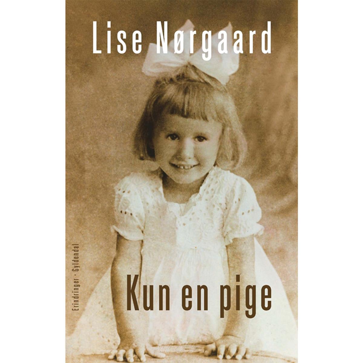 Kun en pige - Paperback