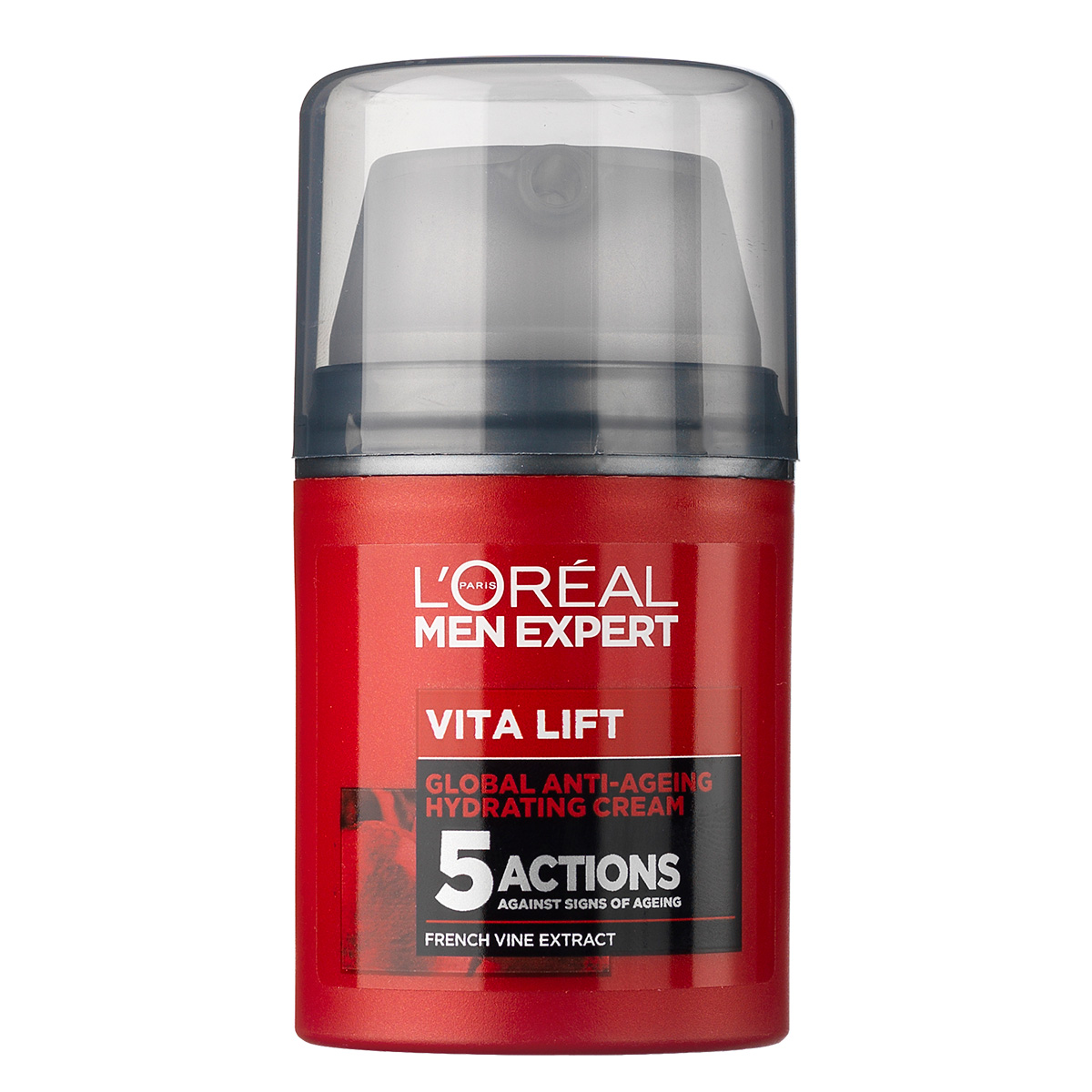 L'Oréal Paris Men Expert Vitalift Global Anti-ageing Cream - 50 ml Opstrammende creme til normal hud