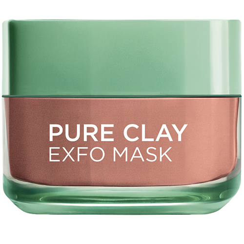 Image of   L´Oréal Paris Pure Clay Exfo Mask - 50 ml
