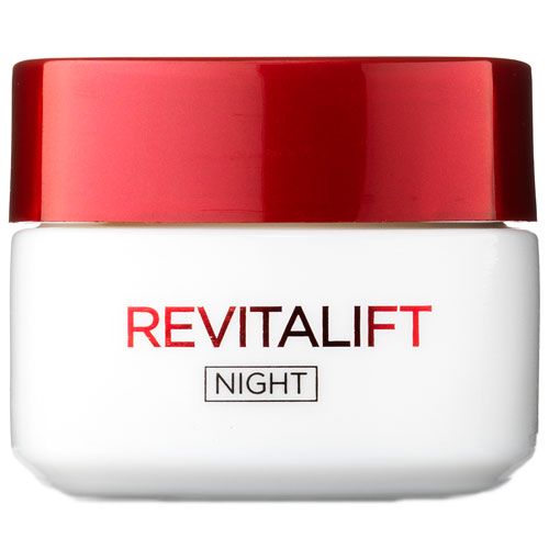 L'Oréal Paris Revitalift Night Cream - 50 ml Anti-age natcreme til moden hud