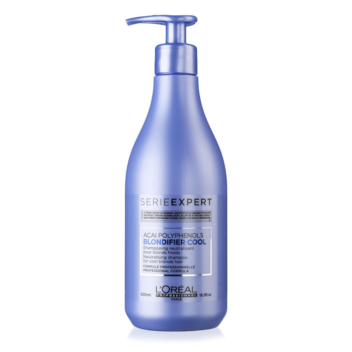 Image of   LOréal Série expert Blondifier Cool shampoo - 500 ml