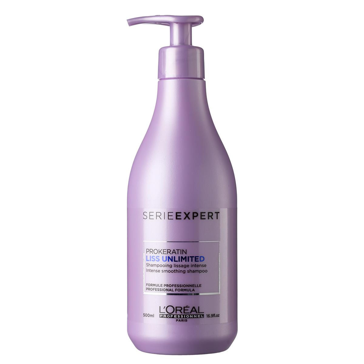 Billede af LOréal Série expert Liss Unlimited Prokeratin Shampoo - 500 ml